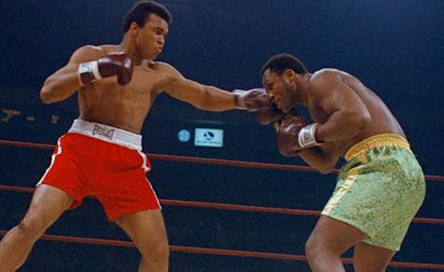 Ali Frazier 1, fight of the century. (int)