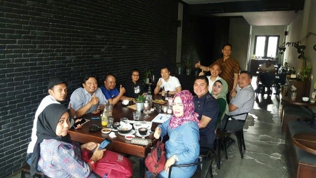 Astra Group Medan menggelar media gathering di Coffeenatics Medan, Selasa (20/03/2018). (istimewa)