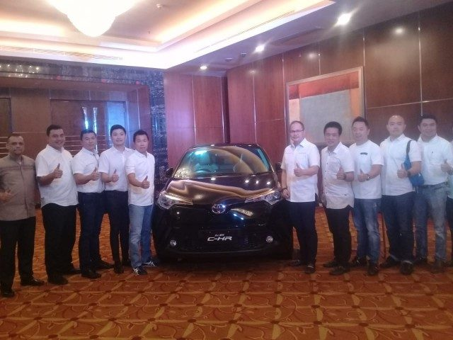All New C-HR dilaunching di Kota Medan, Jumat (13/07/2018). (akses.co/din)